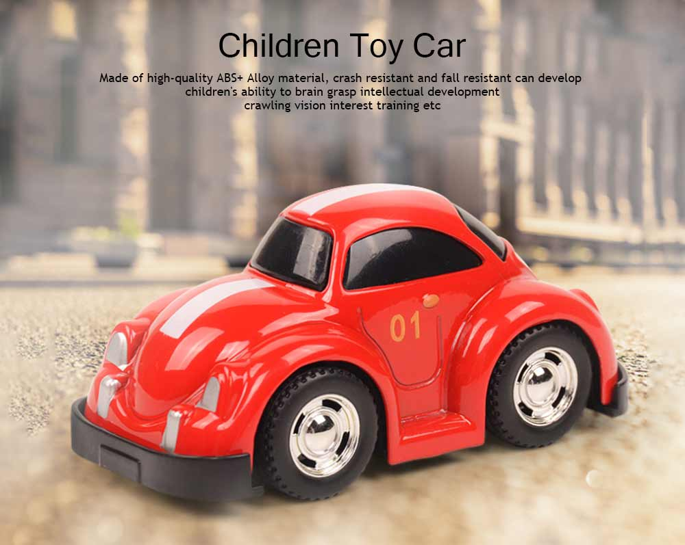 Toy Car Set For Toddlers, Pull Back Car, Alloy Puzzle Car, Mobilization Q Version Mini Car 0