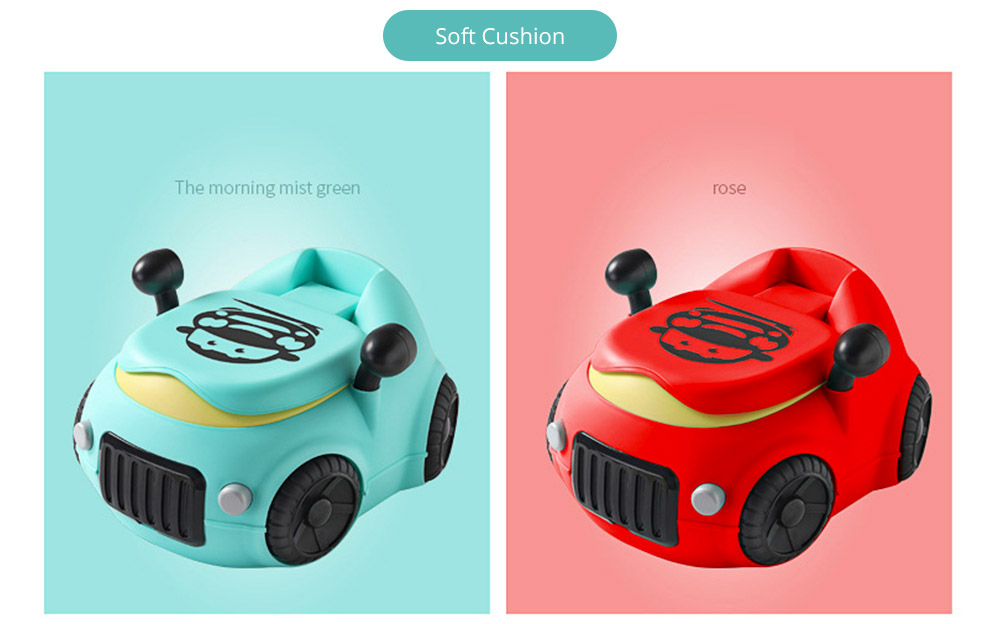 Baby Potty Car, XL Children'S Toilet For Boys And Girls, With High Back Ridge Design 13