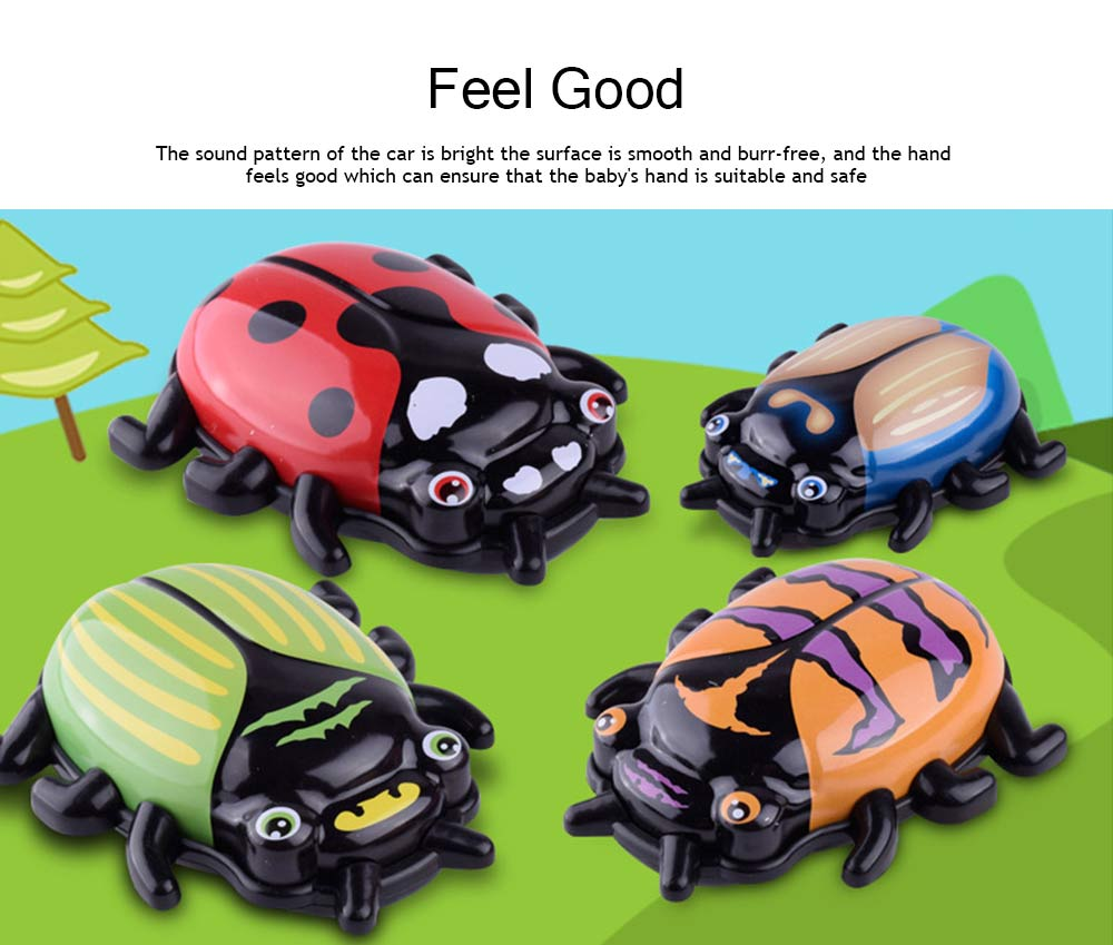 Children's Cartoon Alloy Beetle Inertia Car Small Toy, Creative Toy Car for Baby Over Three-years-old 3