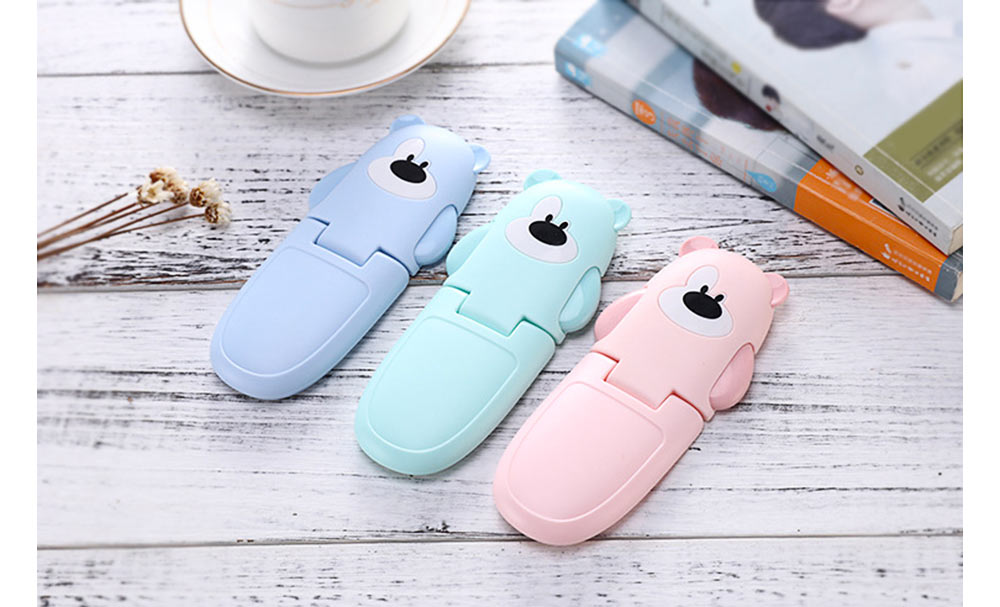 Baby Cartoon Anti-pinching Lock, Multifunctional Safety Lock with Double Button Switch Design 10