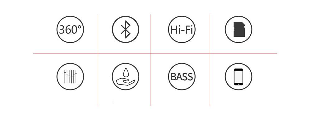 Creative Mini Portable Bluetooth Speaker With SD Card Slot, TF Card Insert Or USB Input 1