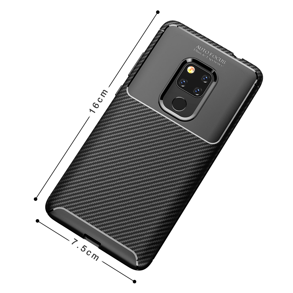 Spessn Carbon Fiber Cover Anti-Scratch Shockproof Skin Case for Huawei Mate 20 3 Colors On SALE 3
