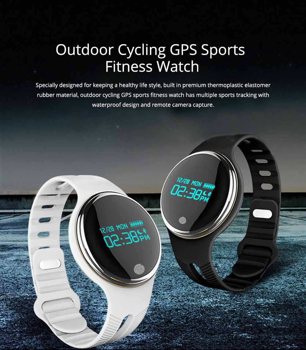 IP67 Waterproof Bluetooth Smart Bracelet Watch for Outdoor Cycling GPS Sports 0
