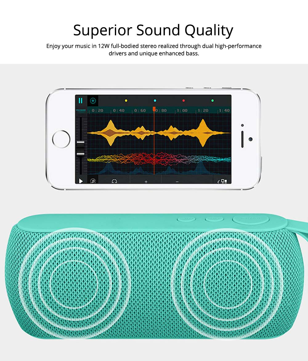 Mini Portable Subwoofer Wireless Bluetooth Speaker For iPhone iPad PC 1