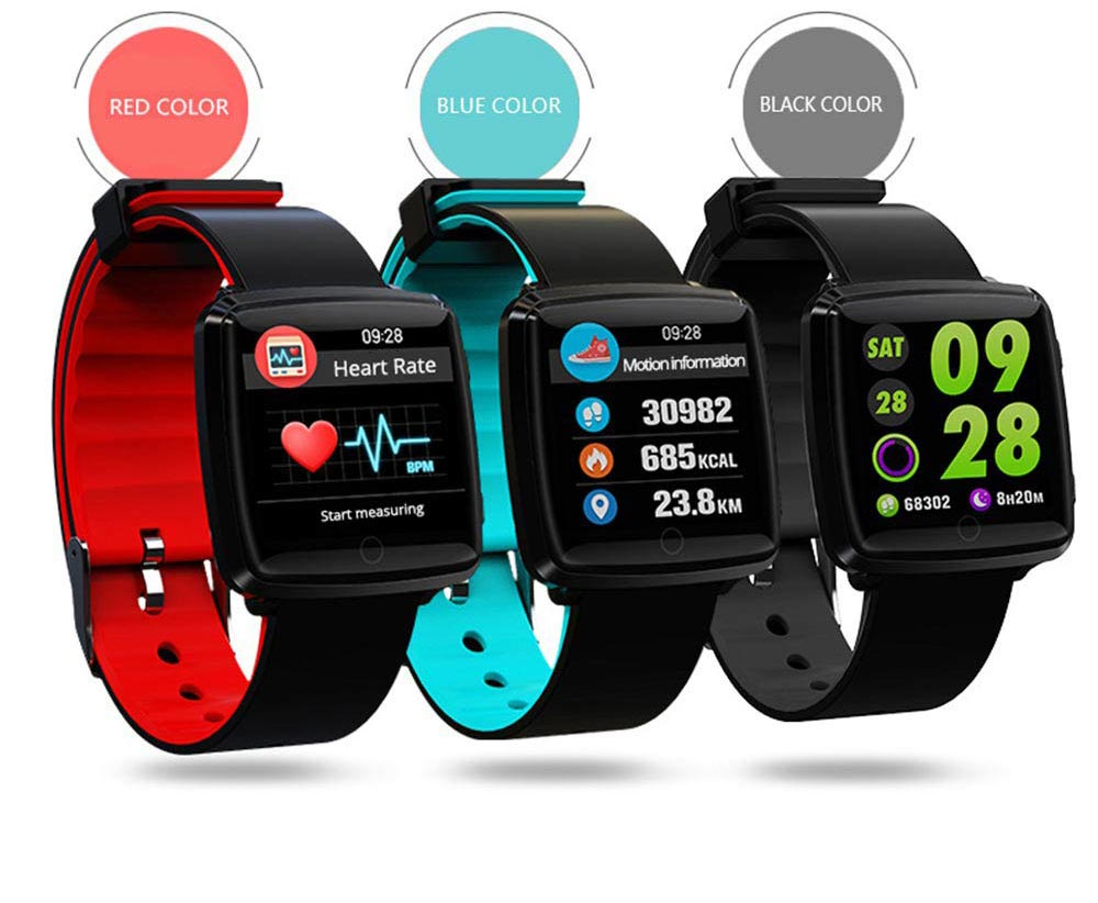Fashion Sports Smart Wear Bracelet for Information Synchronization Push, Blood Pressure, Sleep Detection and Fitness Step 1