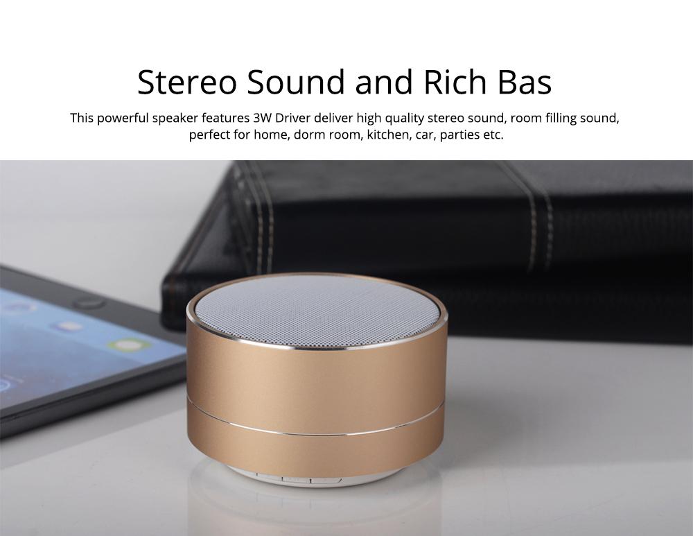 Wireless Bluetooth Speaker Outdoor Portable Mini Card Audio Phone Computer Speaker for iPhone iPad PC 6