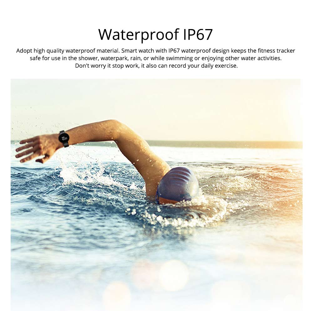 Waterproof Sports Watch Smart Bracelet for Call, Sleep Monitoring, Heart Rate Monitoring 4