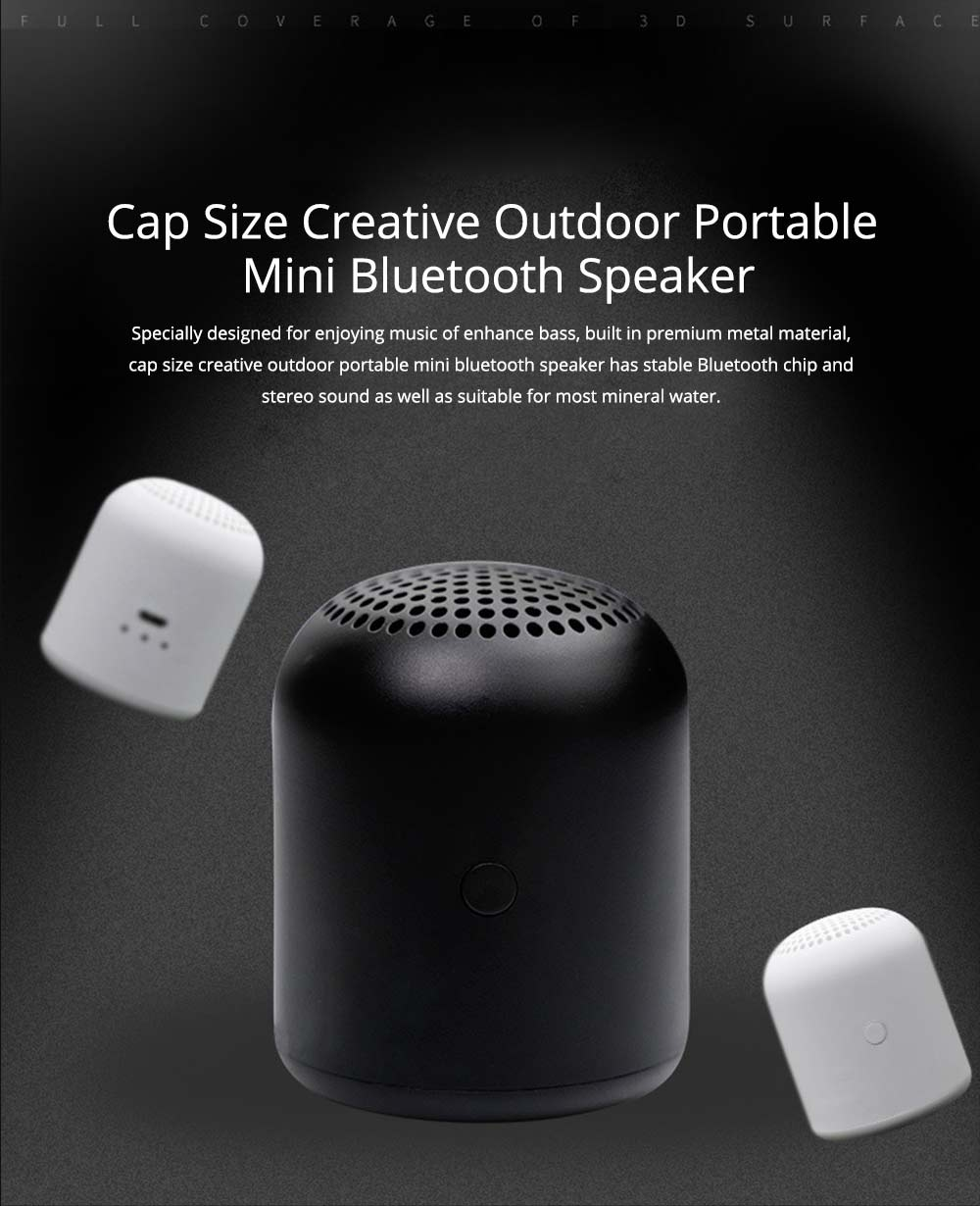 Home Outdoor Portable Mini Bluetooth Speaker for Company Gift 0