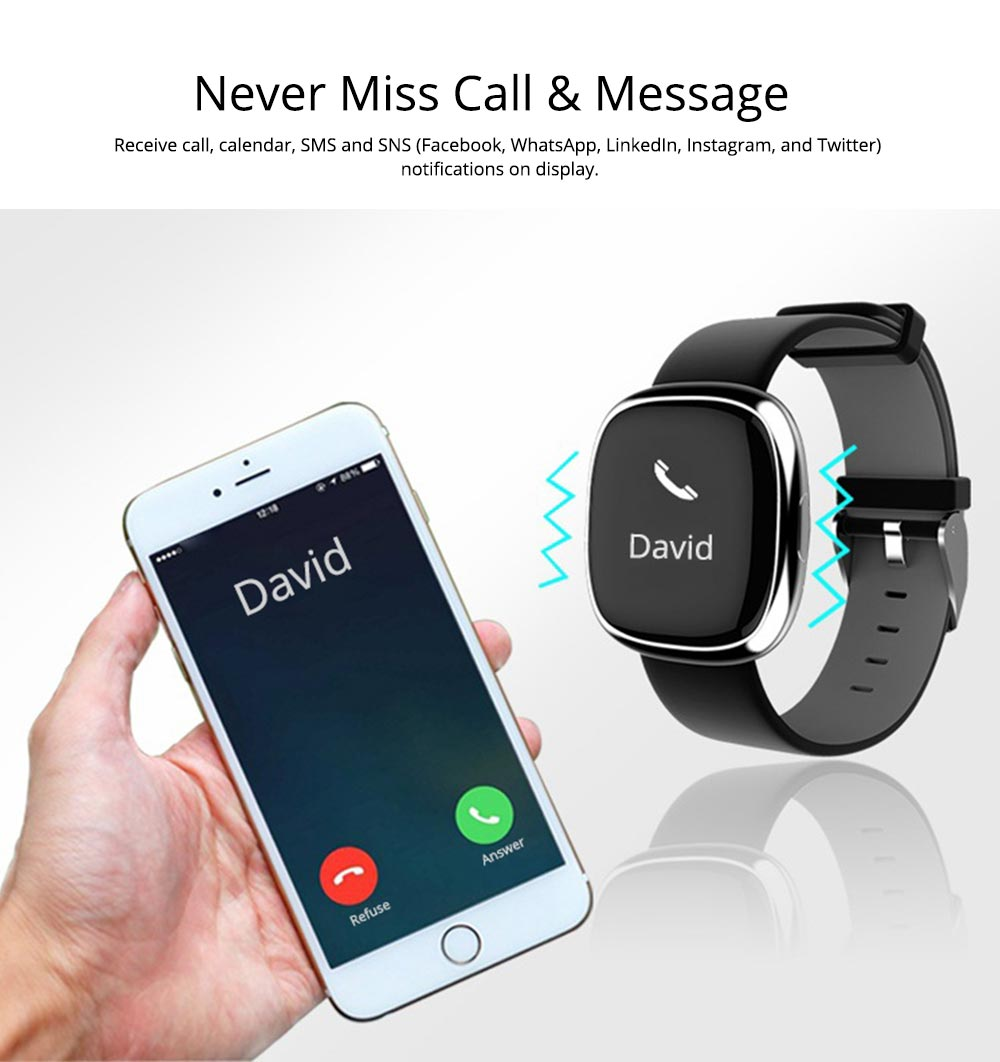 Fashion Smart Universal Watch Fitness Tracker for GPS Positioning Function and Heart Rate Monitoring 6