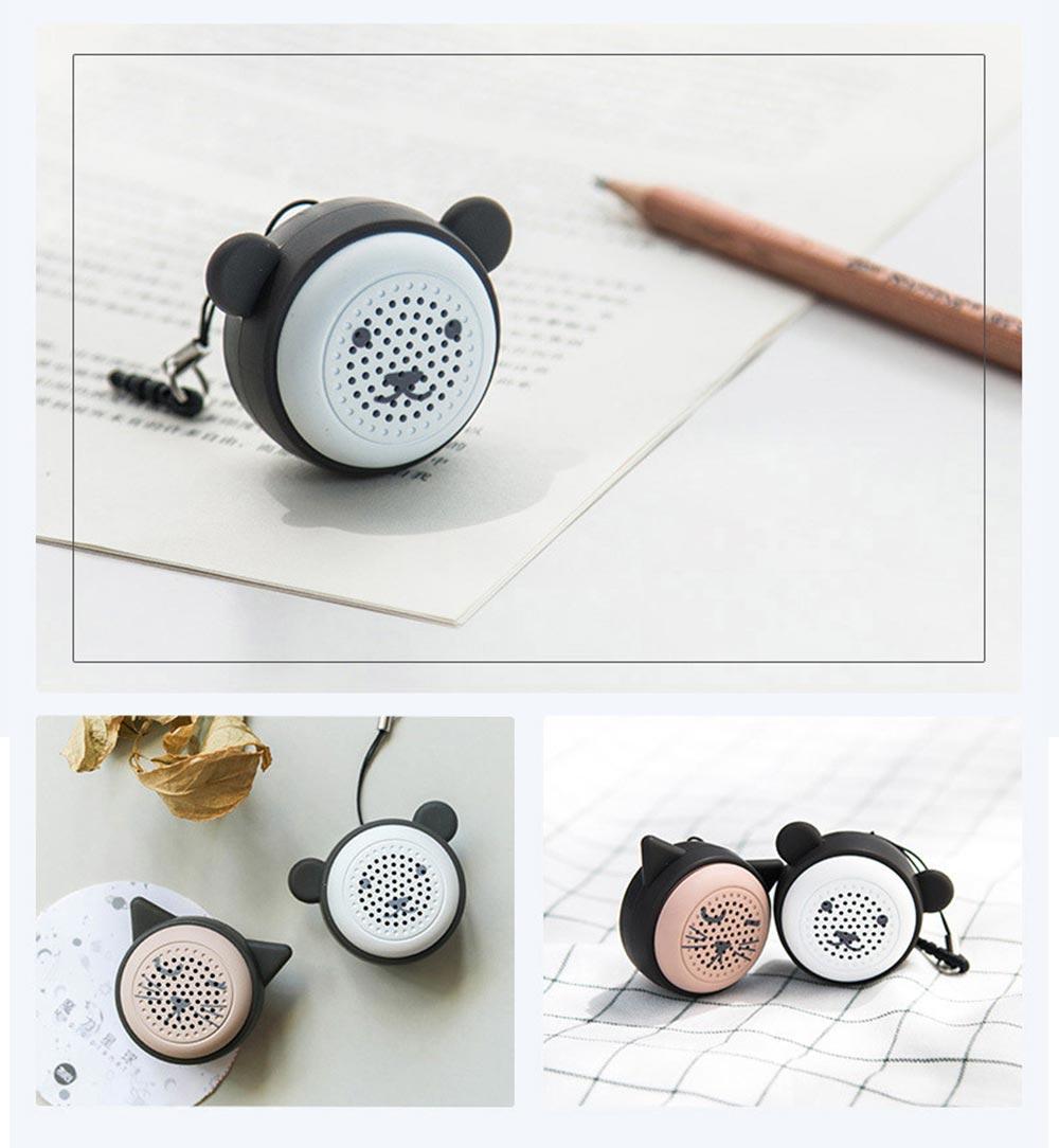 Universal Bluetooth Speaker, Mini Portable Creative Mobile Selfie Sounder for Gift 13