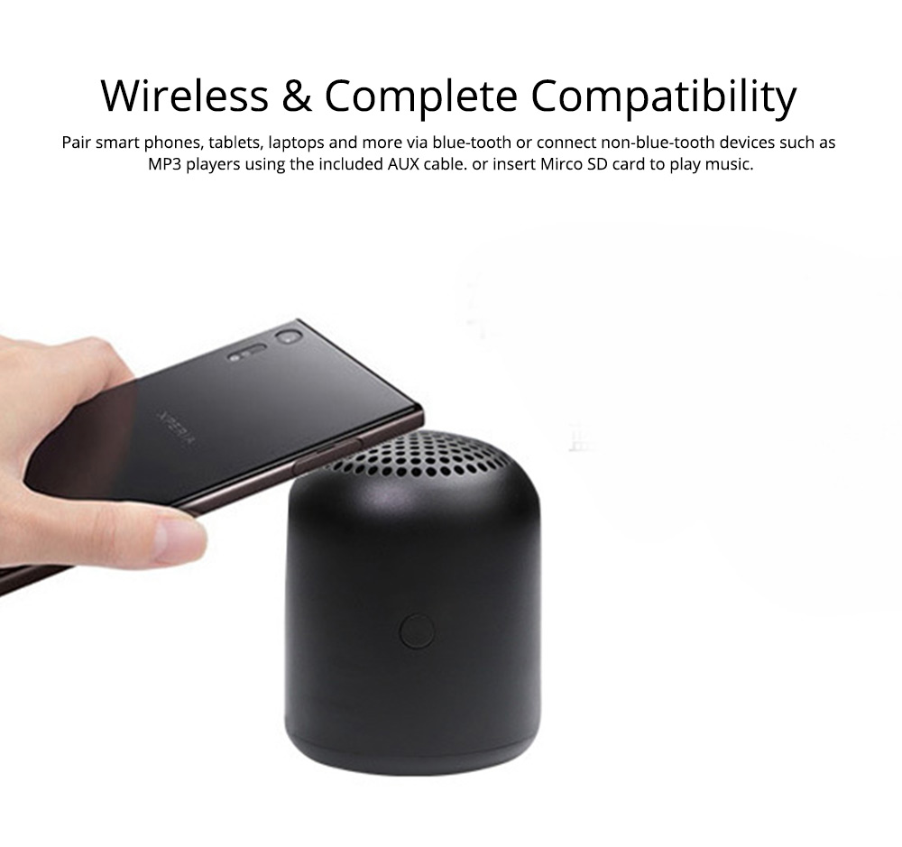 Home Outdoor Portable Mini Bluetooth Speaker for Company Gift 2