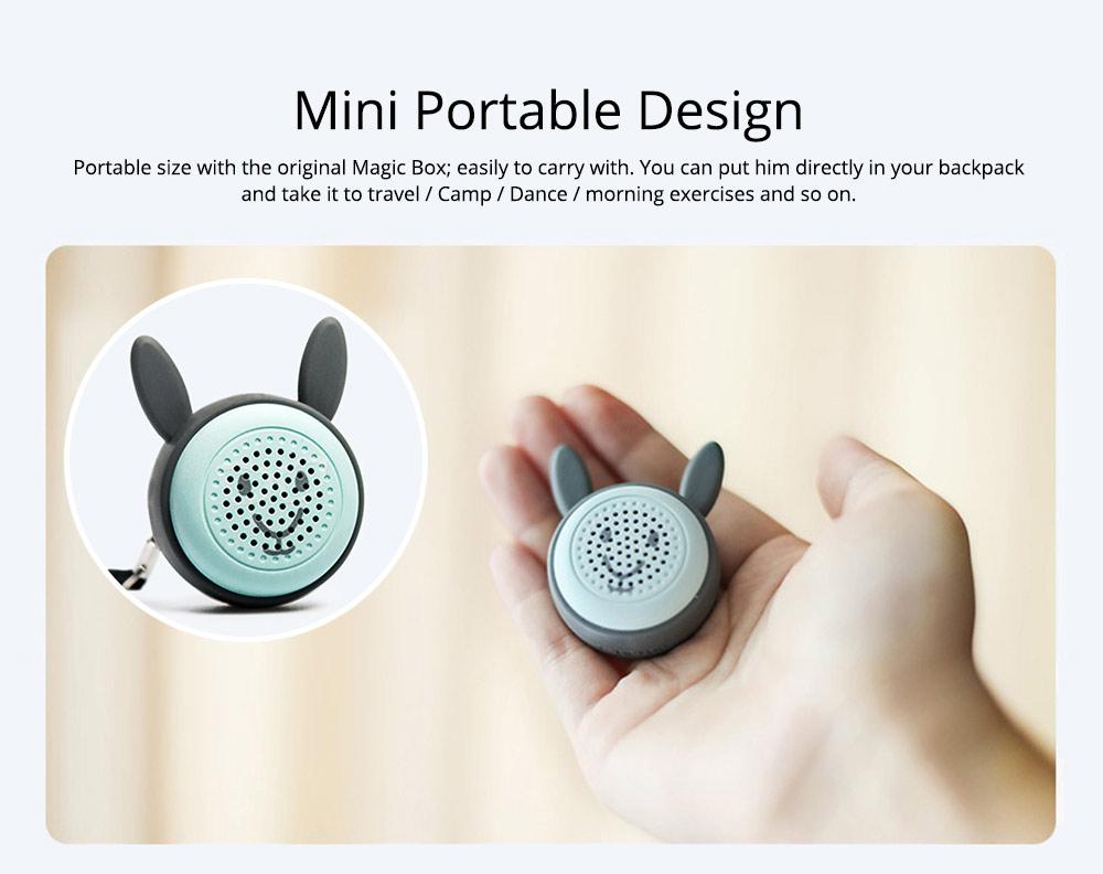 Universal Bluetooth Speaker, Mini Portable Creative Mobile Selfie Sounder for Gift 3