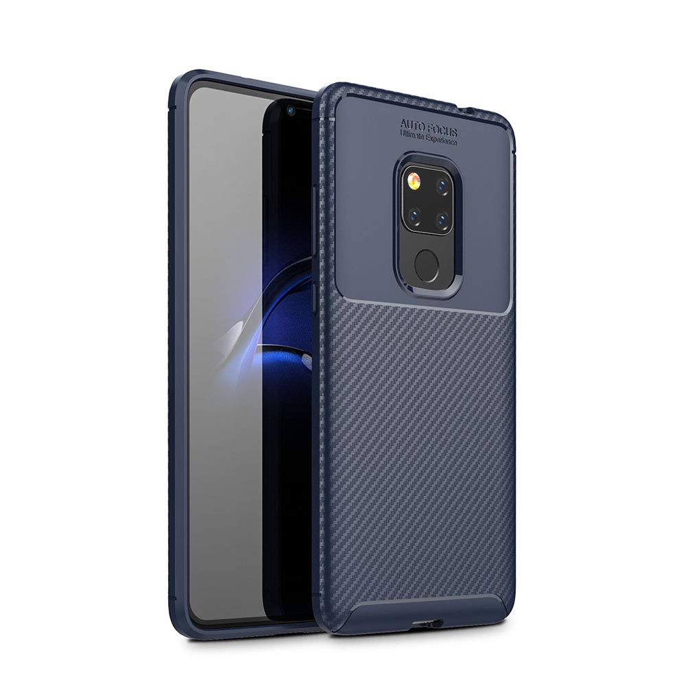 Spessn Carbon Fiber Cover Anti-Scratch Shockproof Skin Case for Huawei Mate 20 3 Colors On SALE 2