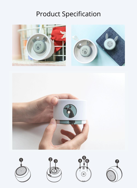 Universal Bluetooth Speaker, Mini Portable Creative Mobile Selfie Sounder for Gift 8