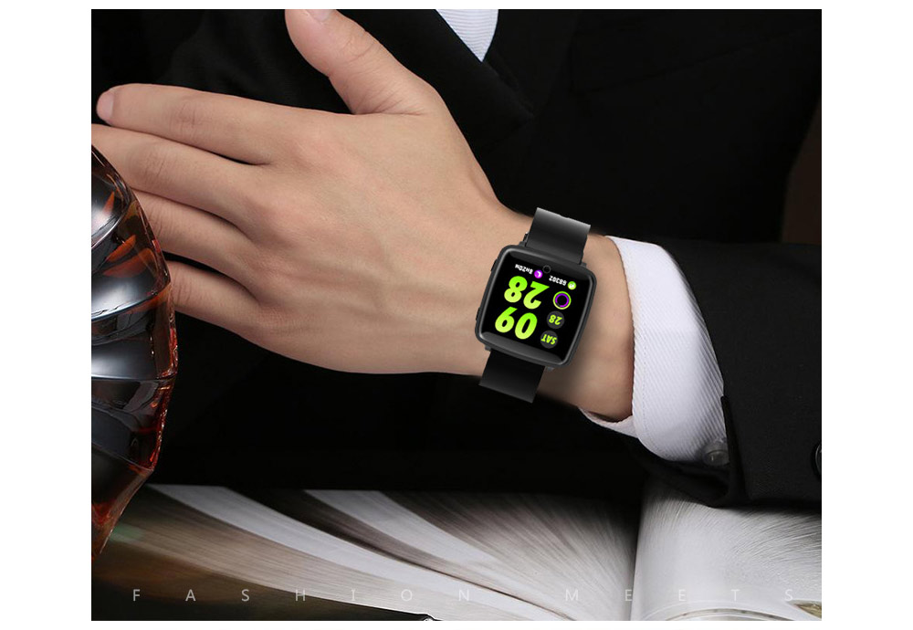 Fashion Sports Smart Wear Bracelet for Information Synchronization Push, Blood Pressure, Sleep Detection and Fitness Step 12