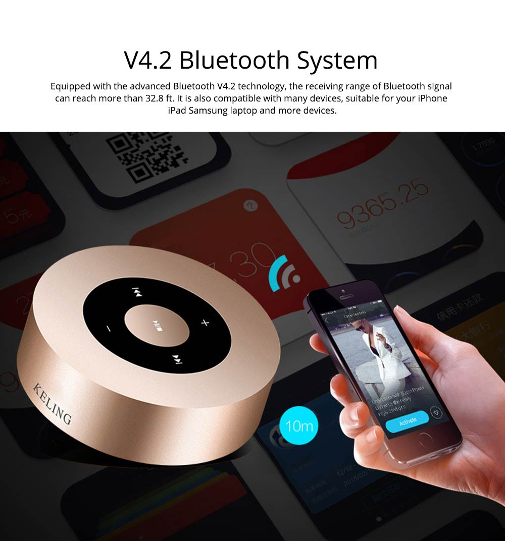Mini Mobile Phone Wireless Bluetooth Speaker and Amplifier 1