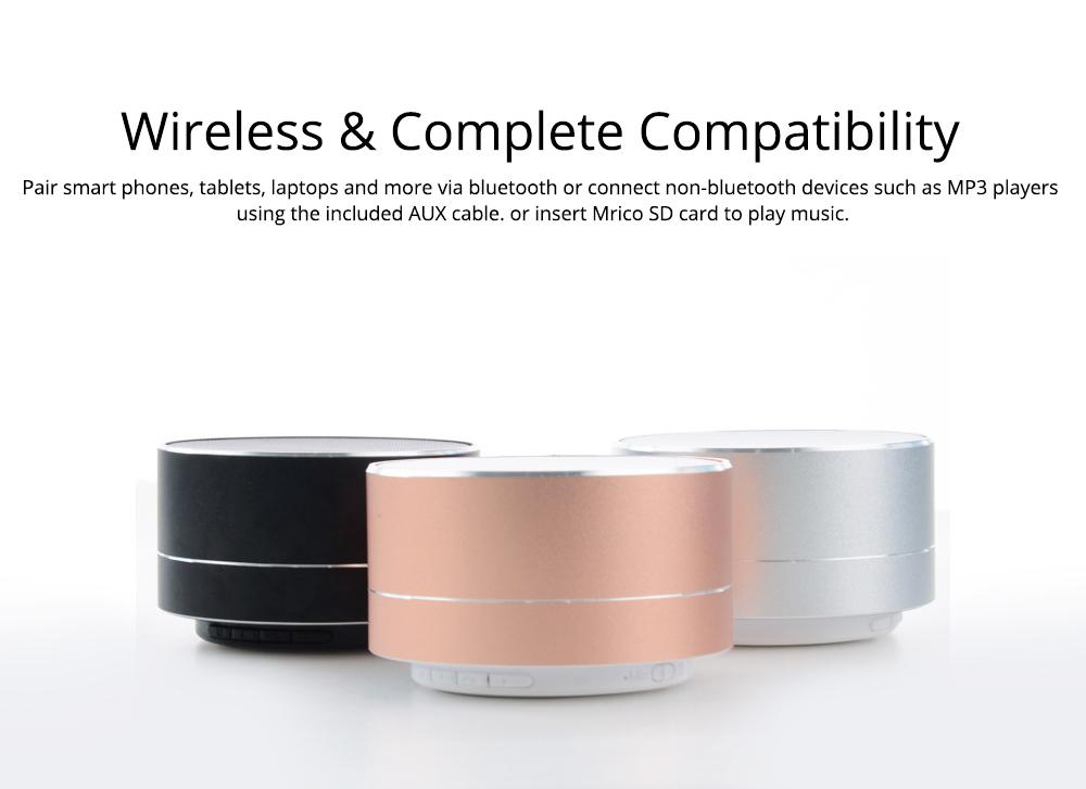 Wireless Bluetooth Speaker Outdoor Portable Mini Card Audio Phone Computer Speaker for iPhone iPad PC 3