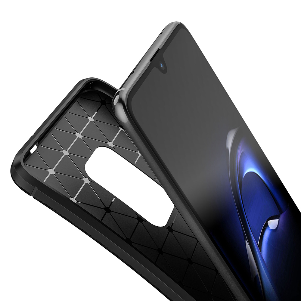 Spessn Carbon Fiber Cover Anti-Scratch Shockproof Skin Case for Huawei Mate 20 3 Colors On SALE 7