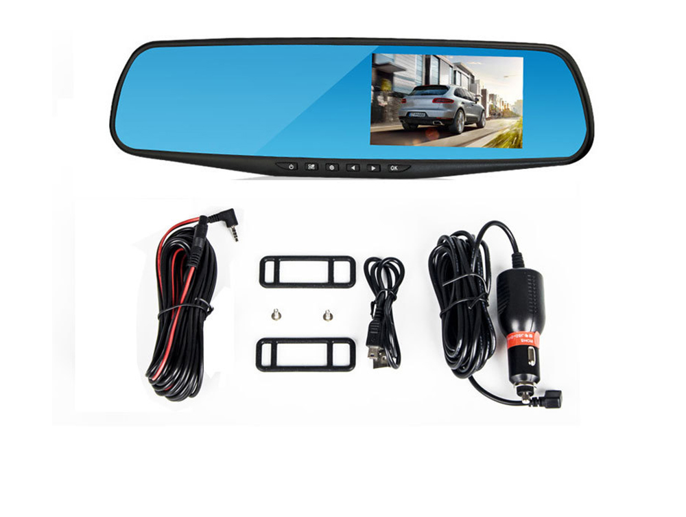 Rear View Mirror Camera Recorder, 1080P HD Driving Recorder For Night Vision Parking Monitoring 9