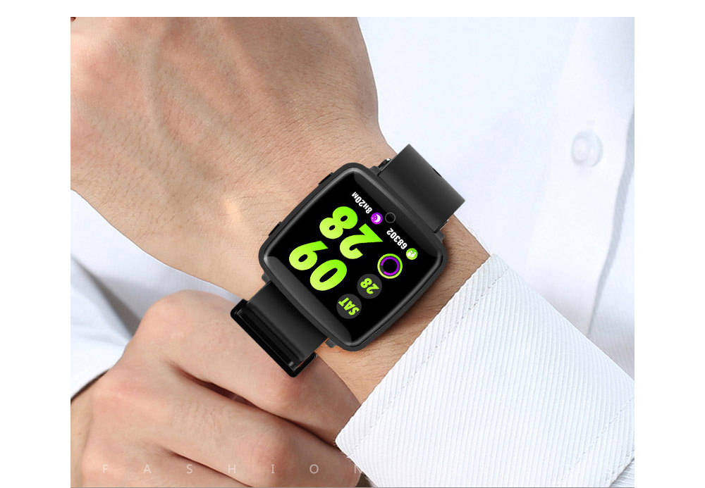 Fashion Sports Smart Wear Bracelet for Information Synchronization Push, Blood Pressure, Sleep Detection and Fitness Step 11