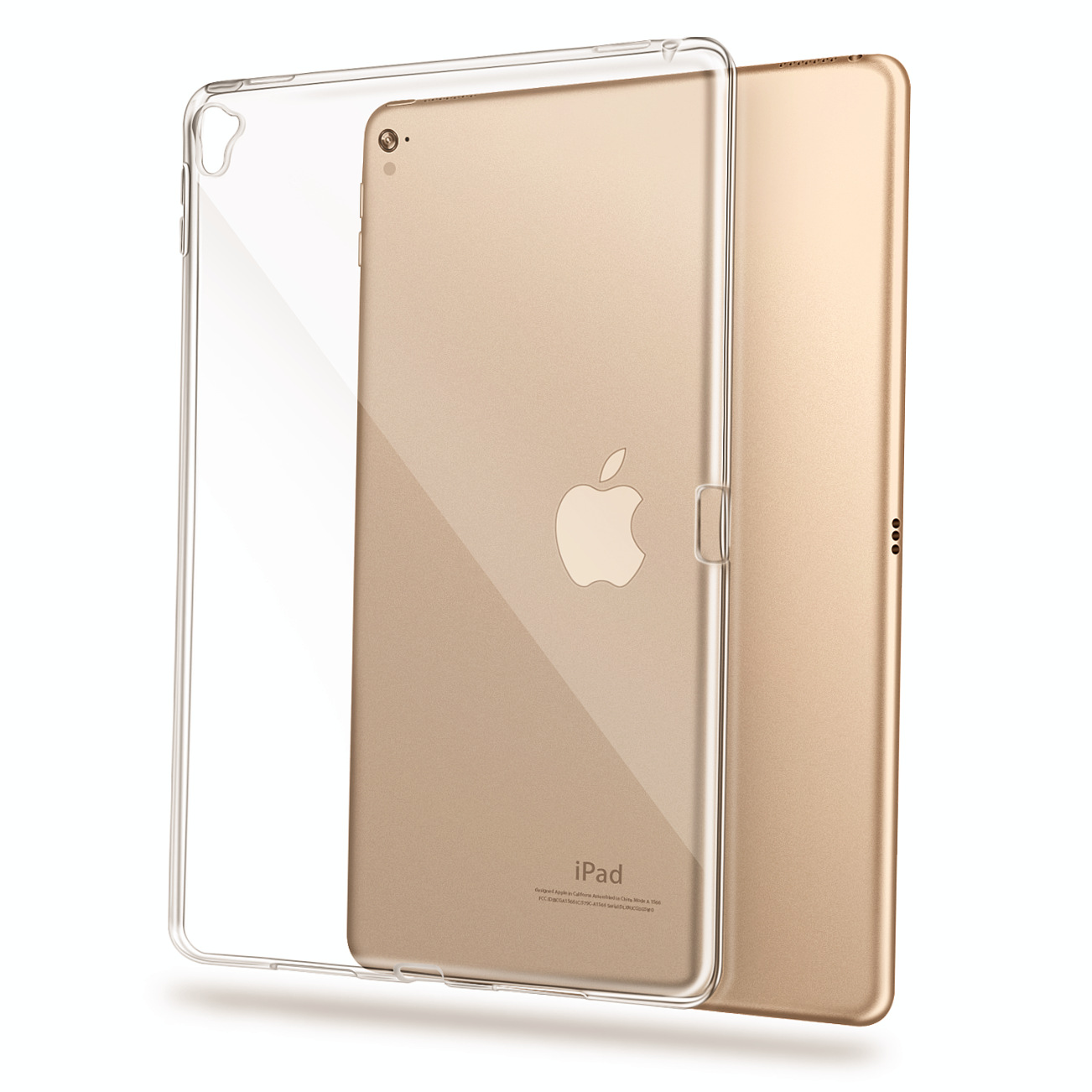 For Apple iPad Pro 9.7'' 10.5'' 11'' 12.9'' ipad mini Air 1 2 3 4 inch Transparent Bumper Case Soft TPU Ultra Slim Clear Cover Shockproof ON SALE 0