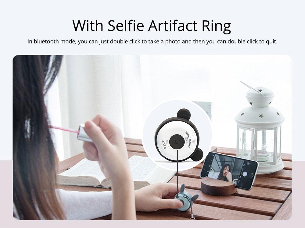 Universal Bluetooth Speaker, Mini Portable Creative Mobile Selfie Sounder for Gift 6