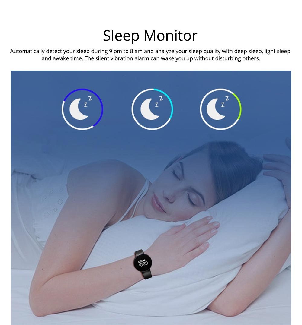 Waterproof Sports Watch Smart Bracelet for Call, Sleep Monitoring, Heart Rate Monitoring 2