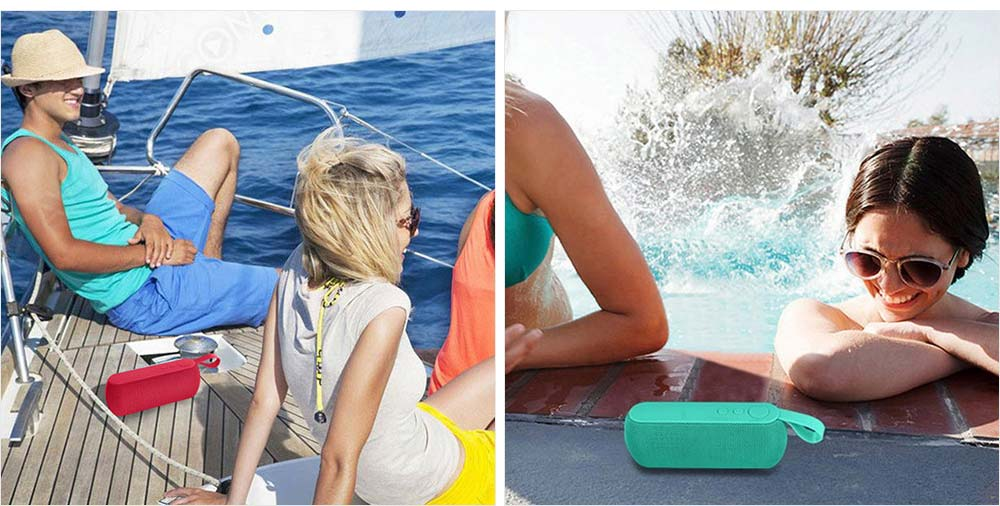 Mini Portable Subwoofer Wireless Bluetooth Speaker For iPhone iPad PC 6