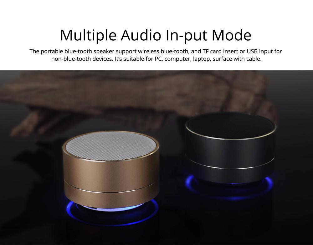Wireless Bluetooth Speaker Outdoor Portable Mini Card Audio Phone Computer Speaker for iPhone iPad PC 5