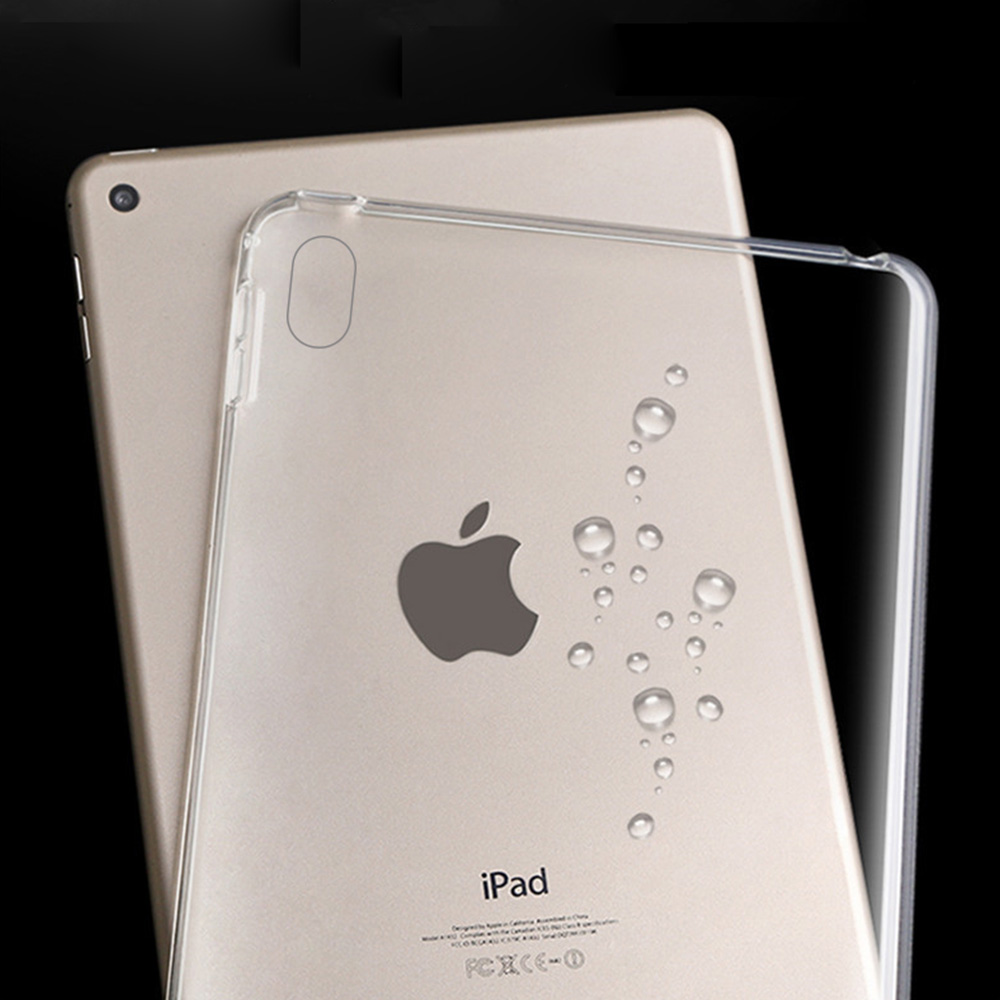 For Apple iPad Pro 9.7'' 10.5'' 11'' 12.9'' ipad mini Air 1 2 3 4 inch Transparent Bumper Case Soft TPU Ultra Slim Clear Cover Shockproof ON SALE 3