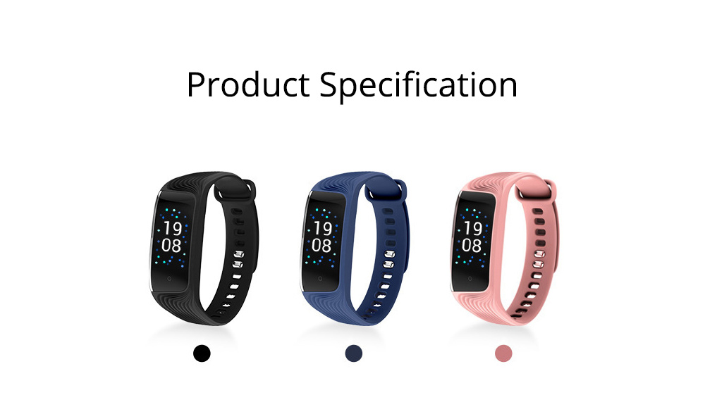 Smart Color Screen Sports Waterproof Bluetooth Stepping Fitness Tracker for Sleep Anti-lost Heart Rate Monitoring 9