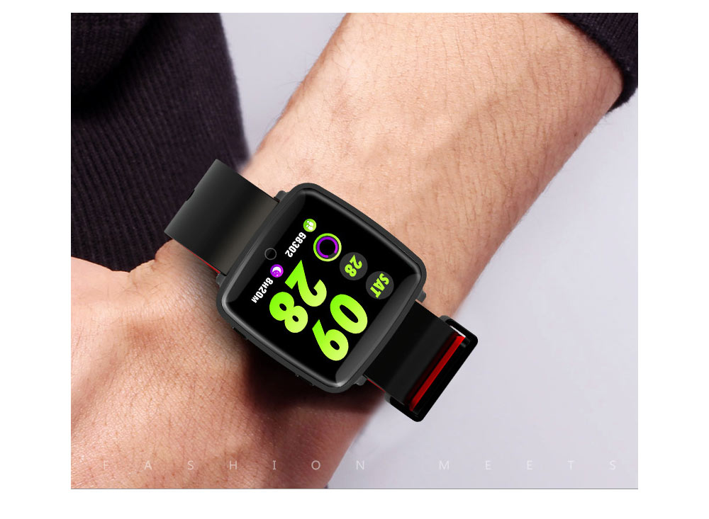 Fashion Sports Smart Wear Bracelet for Information Synchronization Push, Blood Pressure, Sleep Detection and Fitness Step 15