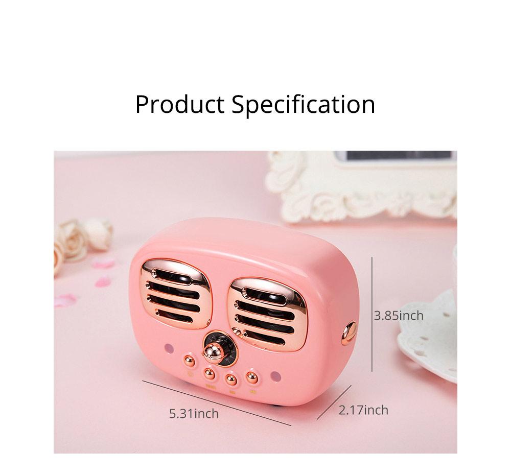 Creative Mini Portable Bluetooth Speaker With SD Card Slot, TF Card Insert Or USB Input 9