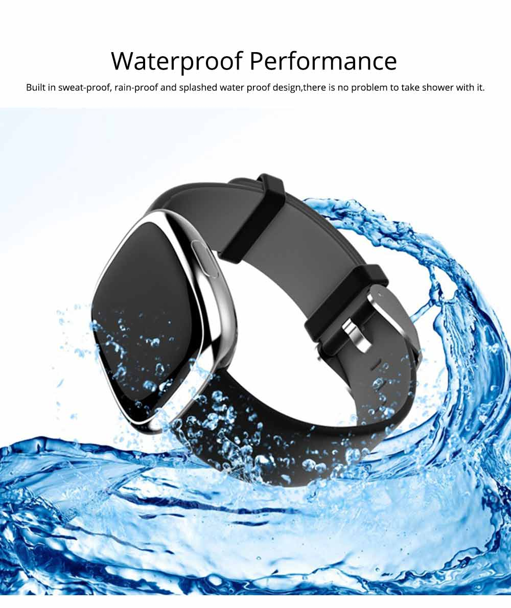 Fashion Smart Universal Watch Fitness Tracker for GPS Positioning Function and Heart Rate Monitoring 5