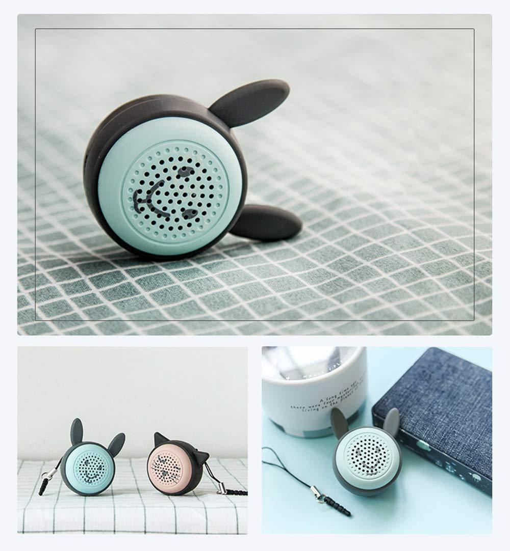 Universal Bluetooth Speaker, Mini Portable Creative Mobile Selfie Sounder for Gift 12
