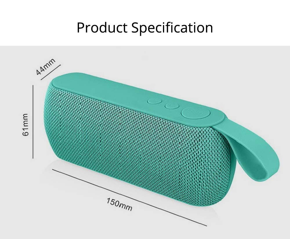 Mini Portable Subwoofer Wireless Bluetooth Speaker For iPhone iPad PC 7