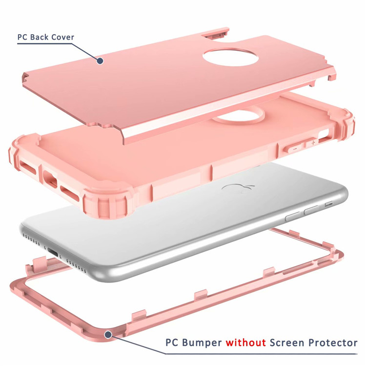 For Apple iPhone XS MAX Bumper Case Shockproof Hybrid Plain Back Slim Cover Shell for iPhone XS MAX 6.5'' 7 Colors ON SALE 5