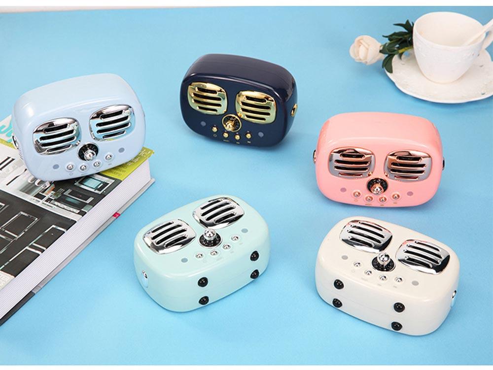 Creative Mini Portable Bluetooth Speaker With SD Card Slot, TF Card Insert Or USB Input 11