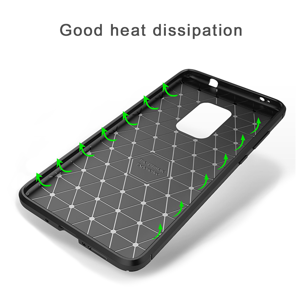 Spessn Carbon Fiber Cover Anti-Scratch Shockproof Skin Case for Huawei Mate 20 3 Colors On SALE 6