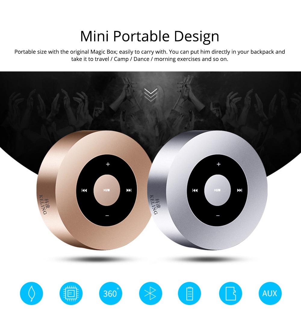 Mini Mobile Phone Wireless Bluetooth Speaker and Amplifier 2