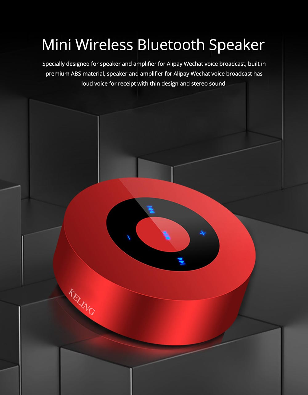 Mini Mobile Phone Wireless Bluetooth Speaker and Amplifier 0