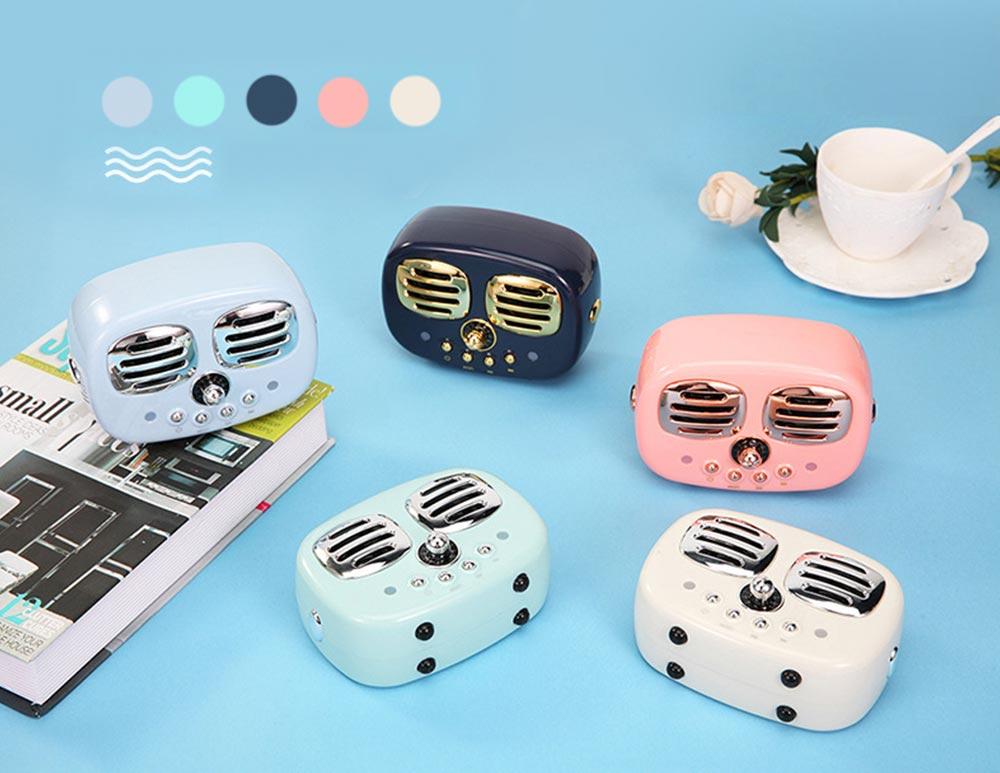 Creative Mini Portable Bluetooth Speaker With SD Card Slot, TF Card Insert Or USB Input 5