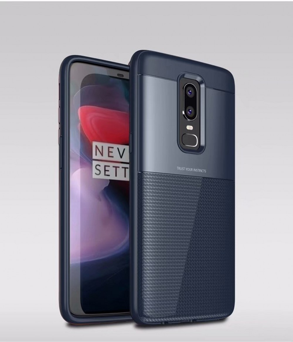 Spessn Carbon Fiber Cover Anti-Scratch Shockproof Skin Case for OnePlus 6 Shell 3 Color ON SALE 7