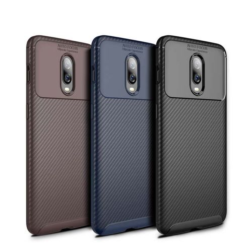 Spessn Carbon Fiber Cover Anti-Scratch Shockproof Skin Case for OnePlus 6T Shell 3 Color ON SALE 7