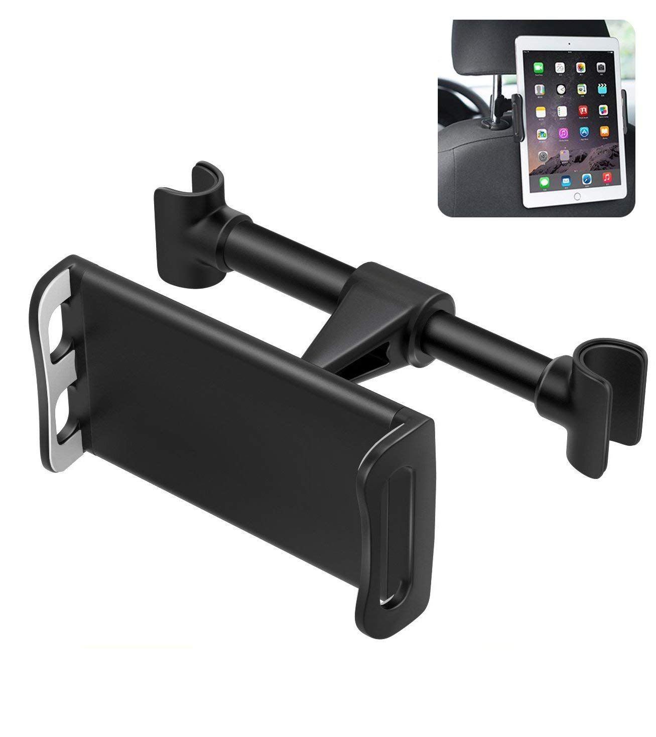 US STOCK Car Seat Stand Mount Headrest Holder for iPad mini Air Pro 11, Samsung Galaxy Tab 3/4, Nexus 7, Kindle Fire 2, HD 6 /7 8