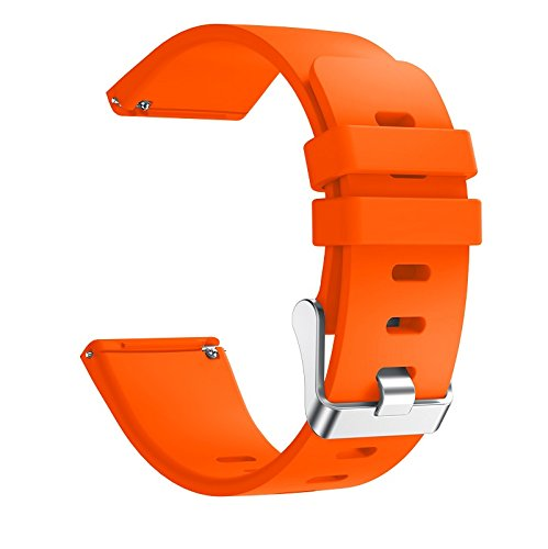 6 Pack For Fitbit Versa Replacement Strap Soft Sport Silicone Watch Band Smart Wristband Bracelet for Fitbit Versa Tracker On sale 10