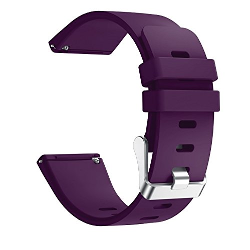 6 Pack For Fitbit Versa Replacement Strap Soft Sport Silicone Watch Band Smart Wristband Bracelet for Fitbit Versa Tracker On sale 14