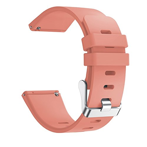 6 Pack For Fitbit Versa Replacement Strap Soft Sport Silicone Watch Band Smart Wristband Bracelet for Fitbit Versa Tracker On sale 12