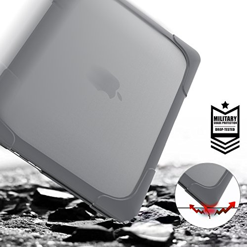 For Apple Macbook Pro 15 Shell A1398 Case With Stand Armor Heavy Duty Dual Layer Frosted PC Protective Cover US Stock 12