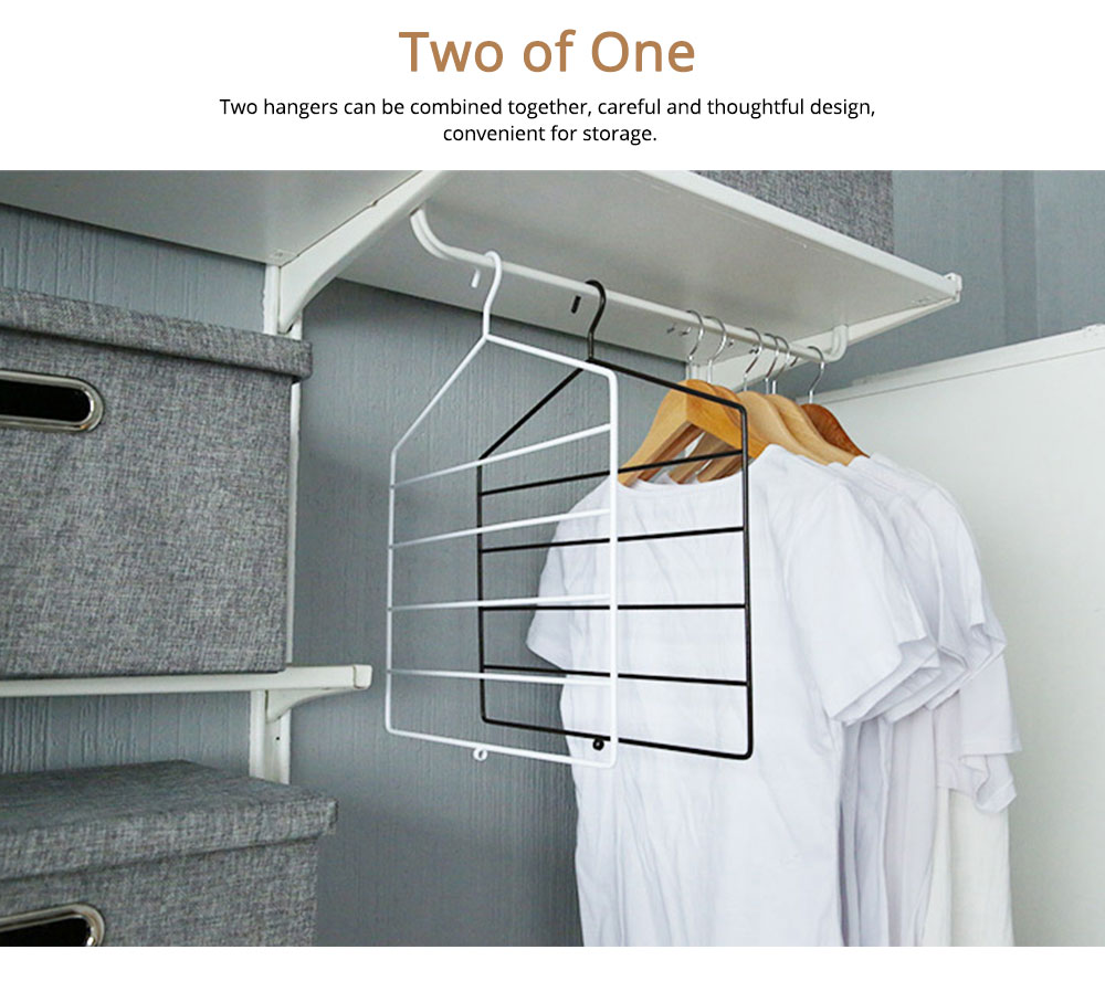 Multifunctional Pant Hanger with multiple layer, Innovative Clothes Rack for Domestic Use 2